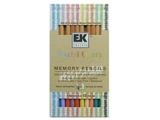 Colored pencils: ZIG Memory Pencils Pastel Colors 12pc