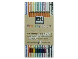Colored pencils: ZIG Memory Pencils Primary Colors 12pc