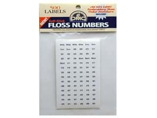 DMC Needlework Acc Self Stick Floss Numbers