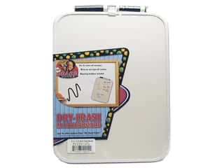 Erasers Dry Erase Boards: The Board Dudes Dry Erase Boards Vinyl Frame 8 1/2 x 11 1/2 in.