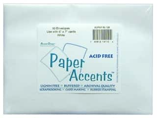 Clearance Paper Accents Envelopes: 5 x 7 in. Envelopes by Paper Accents 50 pc. #128 White