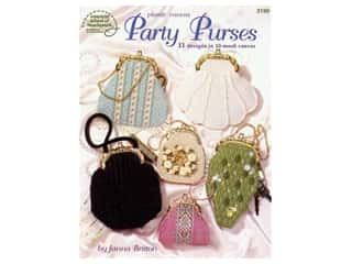 Party Purses Plastic Canvas Book