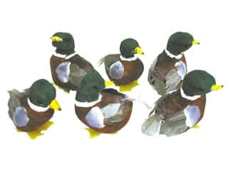 Outdoor, Patio, Garden $2 - $3: Accent Design Artificial Bird 2 3/4 in. Duck Green/Wh Feather 1 pc.