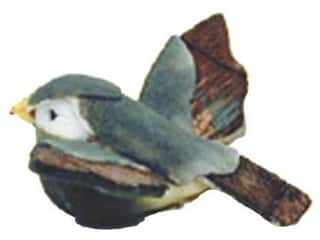 Accent Design - Garden Accents: Accent Design Artificial Bird 1 1/4 in Sparrow Green/Brown/White 1 pc.