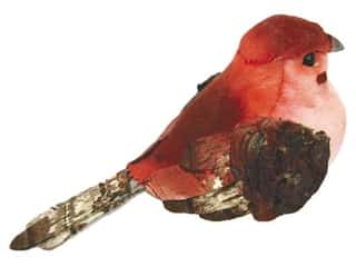 Outdoor, Patio, Garden $2 - $3: Accent Design Artificial Bird 3 1/2 in. Chickadee Pink/Brown 1 pc.