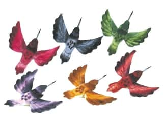 Accent Design Floral and Garden Accents Hummingbird 2 1/2