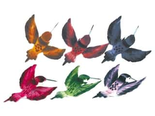 Clearance Floral & Garden Hummingbird: Accent Design Artificial Bird 3 in. Assorted Color Feather 1 pc.