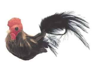 Outdoor, Patio, Garden $2 - $3: Accent Design Artificial Bird 3 1/2 in. Rust/Black/Red Feather 1 pc.