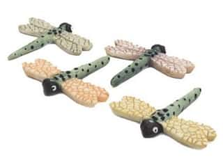 "Floral & Garden: Floral & Garden Dragonfly 1 1/2"" Green/Black/Assorted (2 pieces)"