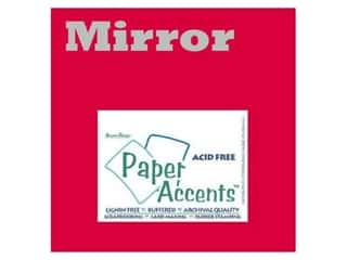 Paper Accents 13 in: Cardstock 12 x 12 in. Mirror Red by Paper Accents (25 sheets)