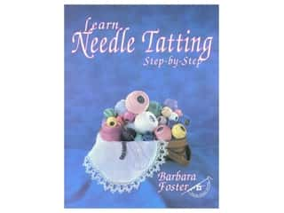 "Books & Patterns 12"": Handy Hands Learn Needle Tatting Step-by Step Book"