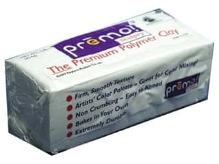 Premo Polymer Clay 1lb White