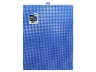 plastic canvas: Darice Plastic Canvas #7 Mesh 10 1/2 x 13 1/2 in. Dark Blue Rectangle (12 sheets)