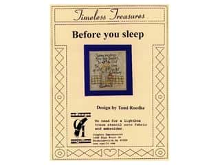 Religious Subjects Stencils: Graphic Impressions Timeless Treasures Stencil Before You Sleep