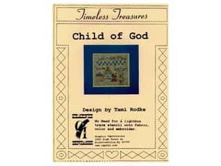Plastic Stencils: Timeless Treasures Stencil Child of God