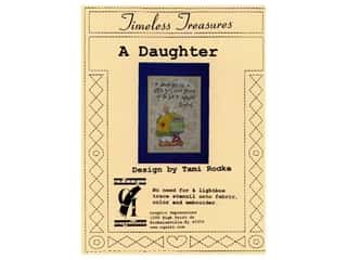 Plastic Stencils: Timeless Treasures Stencil A Daughter