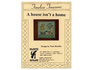 Plastic Stencils: Timeless Treasures Stencil A House Isn't A Home
