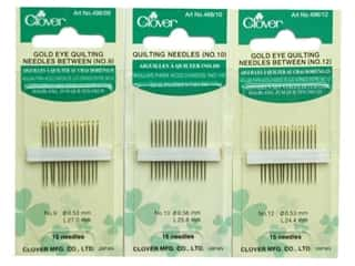 Clover Quilting Needles, SALE $2.19-$4.69.