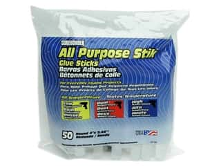 "Surebonder All Temperature Glue Stick 4"" 50pc"