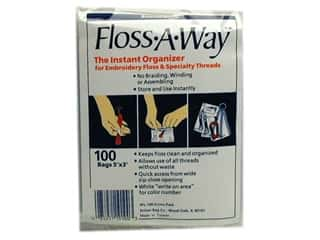 Organizers Yarn & Needlework: Action Bag Floss-A-Way 3 x 5 in. Organizer Bags 100 pc.