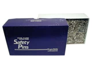 Dritz Safety Pins Bulk Nickel Plated Steel Size 3