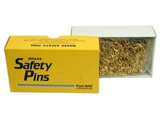 Dritz Safety Pins Bulk Gilt Plated Brass Size 0