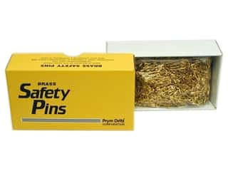 Sewing & Quilting $0 - $2: Bulk Safety Pins by Dritz 3/4 in. Brass 1440pc.