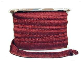 Conso Marrakech Cord w/Lip 3/8&quot; Ruby, Claret,Wine (24 yards)