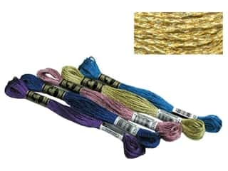 DMC Metallic Pearl Cotton Size 5 Gold (12 skeins)