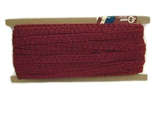 "Conso Princess Scroll Gimp .5"" Ruby (36 yards)"