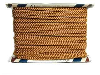 "Cording: Conso Princess Twisted Cord 3/8"" Gold (24 yards)"