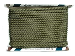 "Conso Princess II Cord with Lip 1/2"" Doric Khaki (24 yards)"