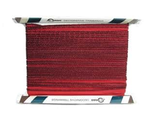 Conso Princess Cord with Lip 3/16&quot; Ruby (24 yards)