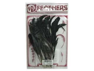"Feathers: Zucker Feathe Natural Coque Strung 6-8"" Bronze"