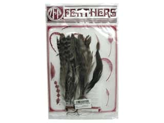 "Zucker Feathe Natural Coque Strung 6-8"" Chinchilla"