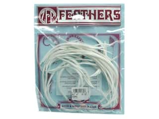 Zucker Feathers: Zucker Feather Goose Biots White .15oz
