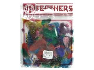 Zucker Feather Guinea Plumage Astd Colors .10oz