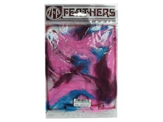 Zucker Feathers Blue: Zucker Feather Turkey Marabou Large .25 oz Mask