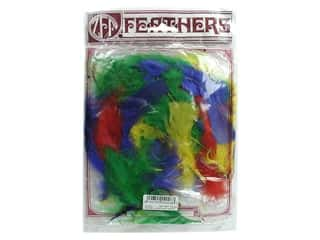 Turkey quill: Zucker Feather Turkey Marabou Large .25 oz Vibrant