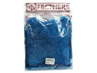 Zucker Feathers Blue: Zucker Feather Turkey Plumage 0.5 oz Dark Turquoise