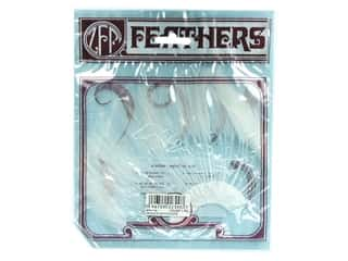 Feathers Crafts with Kids: Zucker Feather Hackle 1/2 Plate White