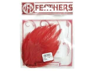 Zucker: Zucker Feather Hackle Pads Red