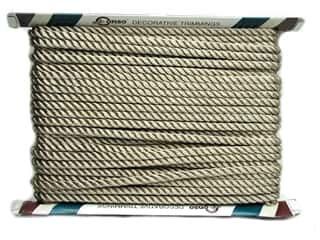"Conso Conso Princess Twisted Cord 3/8"": Conso Princess Twisted Cord 3/8"" Sand (24 yards)"