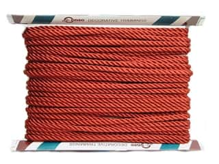 "Conso Princess Twisted Cord 3/8"" Chinese Red (24 yards)"