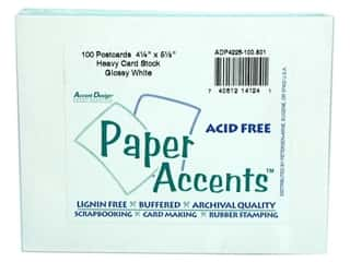 Paper Accents Post Cards 4.25&quot;x 5.5&quot; Glossy 100pc