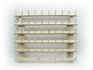 June Tailor Thread Racks Mini-Mega-Rack II with Legs 60 Spool