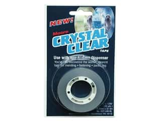 Moore Crystal Clear Tape 3/4&quot; Refill 3/4&quot;x 1296&quot;