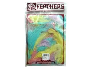 Marabou feathers: Zucker Feather Turkey Marabou Large .25oz Pastel