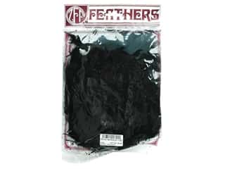 Feathers Doll Making: Zucker Feather Turkey Marabou Large .25 oz Black