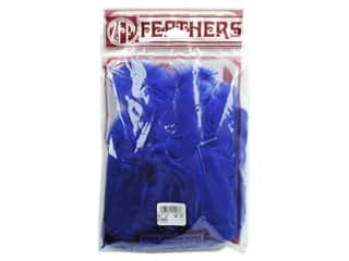 Zucker Feathers Blue: Zucker Feather Turkey Flats 0.5oz Royal